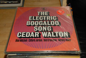 Cedar-Walton-The-Electric-Boogaloo-Blue-Michell-Shrink-VG-clean-nice