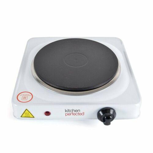 1500 W Lloytron E4102WH cuisine perfectionné unique plaque de cuisson blanc