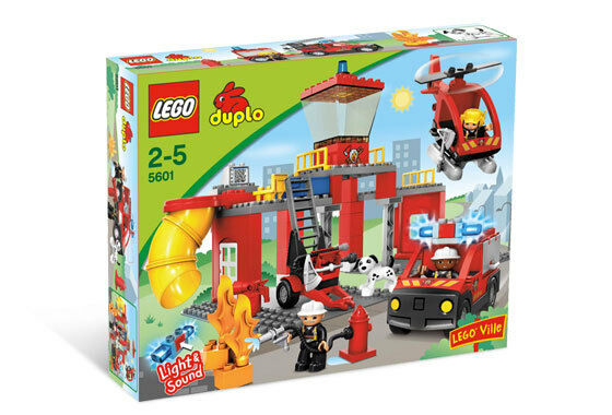 NEW Lego Duplo Fire 5601 Fire Fire Fire Station  Fireman Sealed bc333d