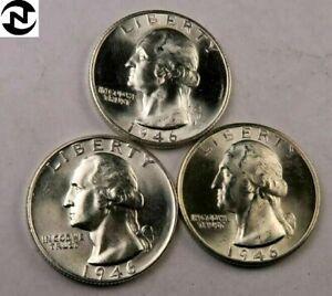 Gem BU * 1946-P  Washington Quarter