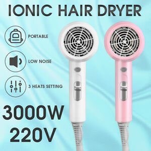 Hair Dryer3000W Professional Hairdryer with Diffuser Ionic Blow Dryer