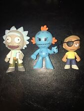 Funko Mystery Minis Rick & Morty Mr. Meeseeks Target Exclusives Evil Drunk Gun