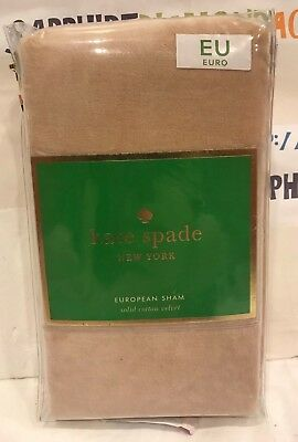 """KATE SPADE Euro Sham Gorgeous /""""Bow Tile/"""" Collection 26/"""" x 26/"""" MSRP $59.99"""