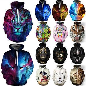 Men-Women-3D-Animal-Graphic-Printed-Sweatshirt-Pullover-Hoodies-Jacket-Coat-Tops