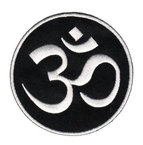 Ag12 hindú caracteres om aum Buda Patch perchas imagen aplicación Patch parchear