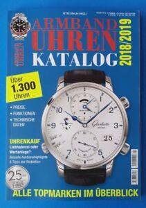Armbanduhren Katalog 2018/2019 Alle Topmarken Im Überblick >1kg 318 Seiten 1a HüBsch Und Bunt