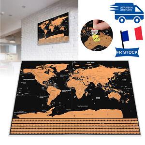 Carte-du-monde-a-gratter-Drapeaux-de-carte-a-gratter-plastifies-a-gratter