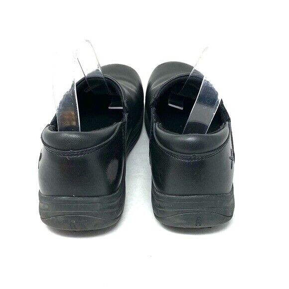 Mozo Shoes For Crews Black Leather Forza Work Shoes Men's Size 7