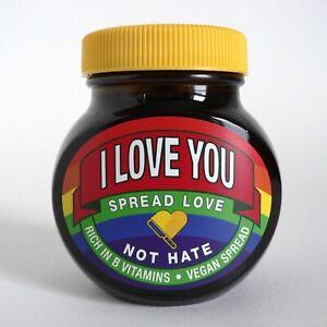 NEW-MARMITE-I-LOVE-YOU-250G-JAR-PRIDE-RAINBOW-SPREAD-LOVE-NOT-HATE-LIMITED-LGBTQ