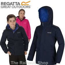 d84408a04 Regatta Boys & Girls Hurdle Waterproof Insulated Jacket 9 Years ...