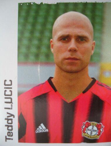 Panini 285 BL Fussball 2004//05 Teddy Lucic Bayer Leverkusen