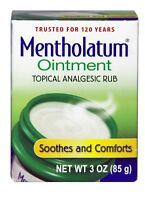 Mentholatum, Ointment, Topical Analgesic Rub, 1 Oz, 3 Oz ( )