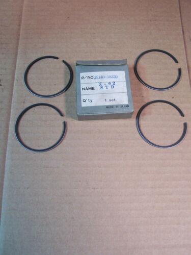 SUZUKI T350 NEW NOS OEM STANDARD PISTON RING SET  T 350  12140-18330
