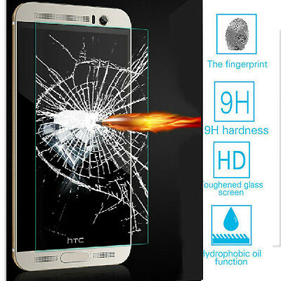 100% New Premium Tempered Glass Film Screen Protector Hard Guard For HTC Models