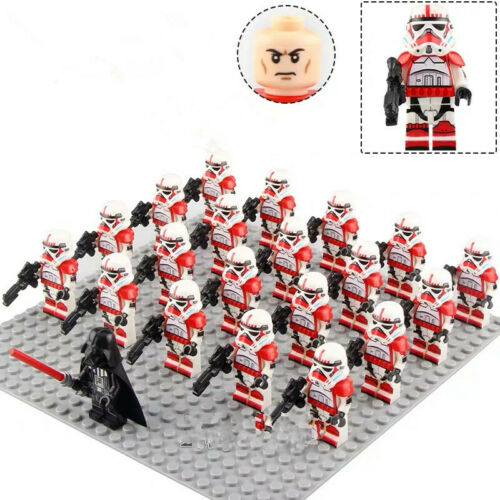 20x 501st STAR WARS Armee Held Clone Troopers Minifiguren Spielzeug Fit Lego