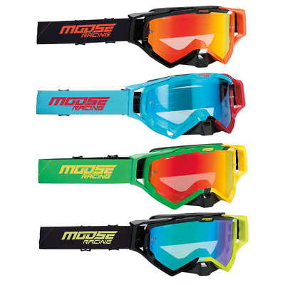 New Moose Racing XCR Hatch Goggle MX ATV SX Offroad Motocross Goggles 4 Colors