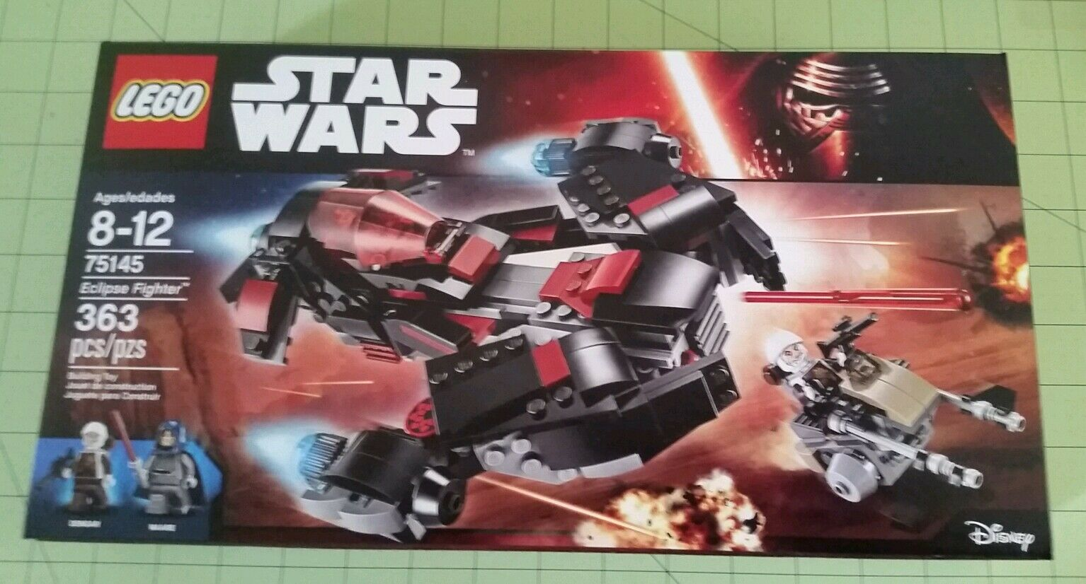 Nuovo LEGO 75145 Star Wars Eclipse Fighter 2016 In Hand Ready to Ship