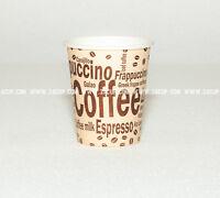 1000x0,2l, 200ml. Pappbecher Kaffeebecher, Trinkbecher, Kaffee to go Becher,