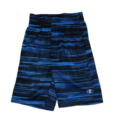 Black//Hydro Champion Boys Authentic Athletic Mesh Shorts