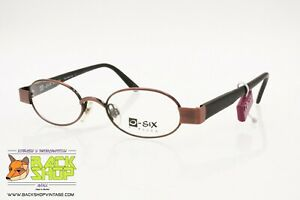 O-six Mod. 015 18 Oval Little Eyeglasses Frame Thick End Pieces, Hand Made Italy