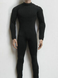 1-6-Men-039-s-Black-Tight-Elastic-Bodice-Suit-Clothing-F-12-034-Male-Body-Model-Figure