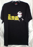Six Million Dollar Man Bionic Lee Majors T Shirt Xxl 2xl Steve Austin