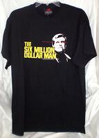 Six Million Dollar Man Bionic Lee Majors T Shirt Xxl 2xl Steve Austin