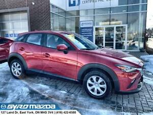 2018 Mazda CX-3 GX GX FWD COMPACT SUV! BACK-UP CAMERA, BLUETO...