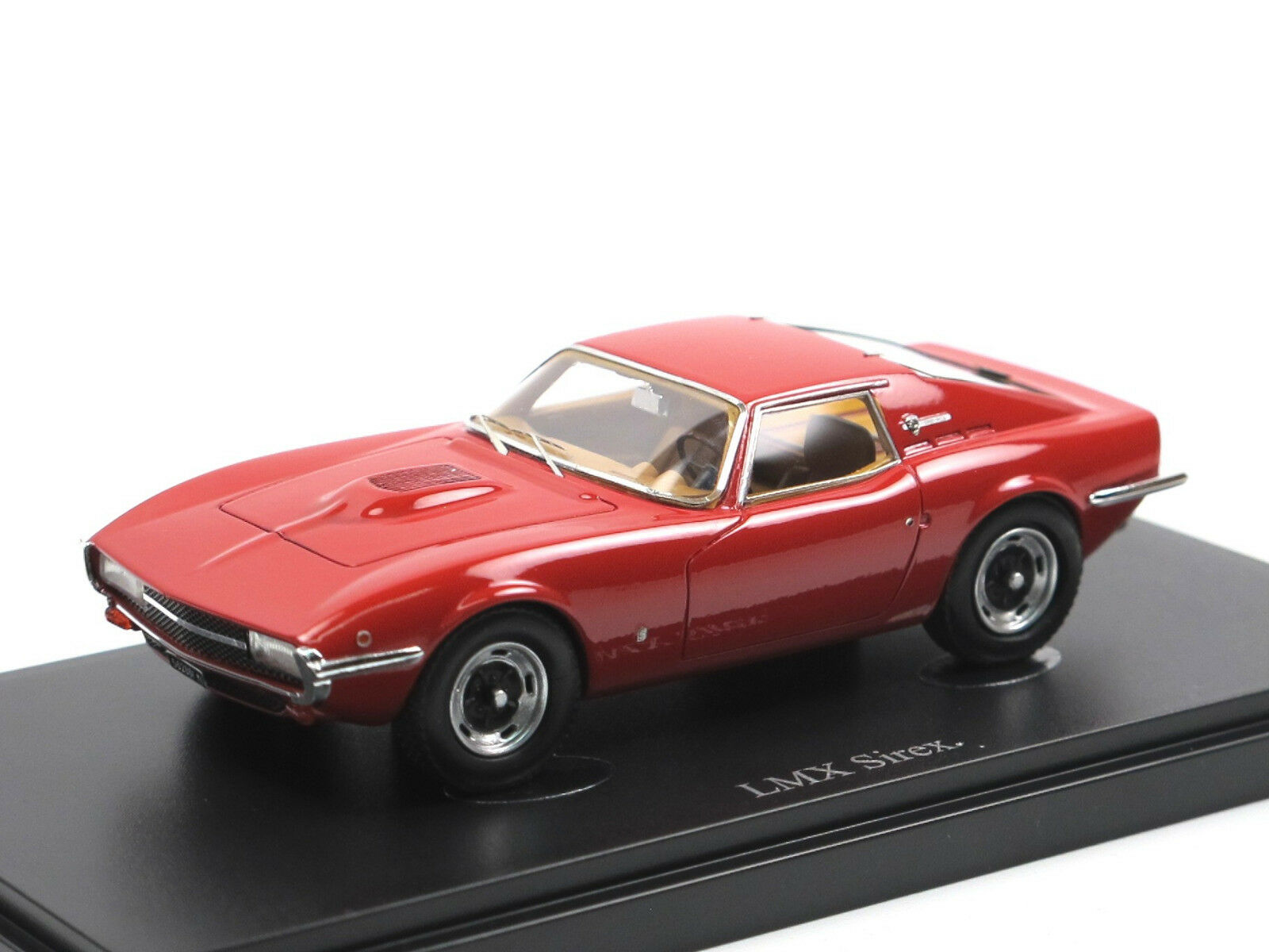Autocult 05016 - 1970 LMX 2300 HCS Sirex SPORT COUPE ITALIA ROSSO RESINA 1 43
