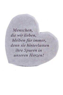 """Business & Industrie Die Wir ..."""" Vidroflor Steinguss Friedhof Frostfest 08663 Duftendes Aroma Preiswert Kaufen Gedenkherz """"menschen"""