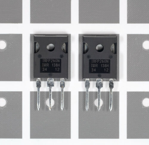 5x Matched IRFP260N N-Ch POWER MOSFET 50A 200V 300W Int/'l Rectifier