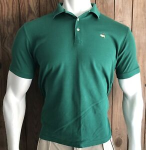 Masters-Collection-Men-s-Large-Polo-Shirt-Green-60-s-Two-Ply-Golf-Pima-Cotton