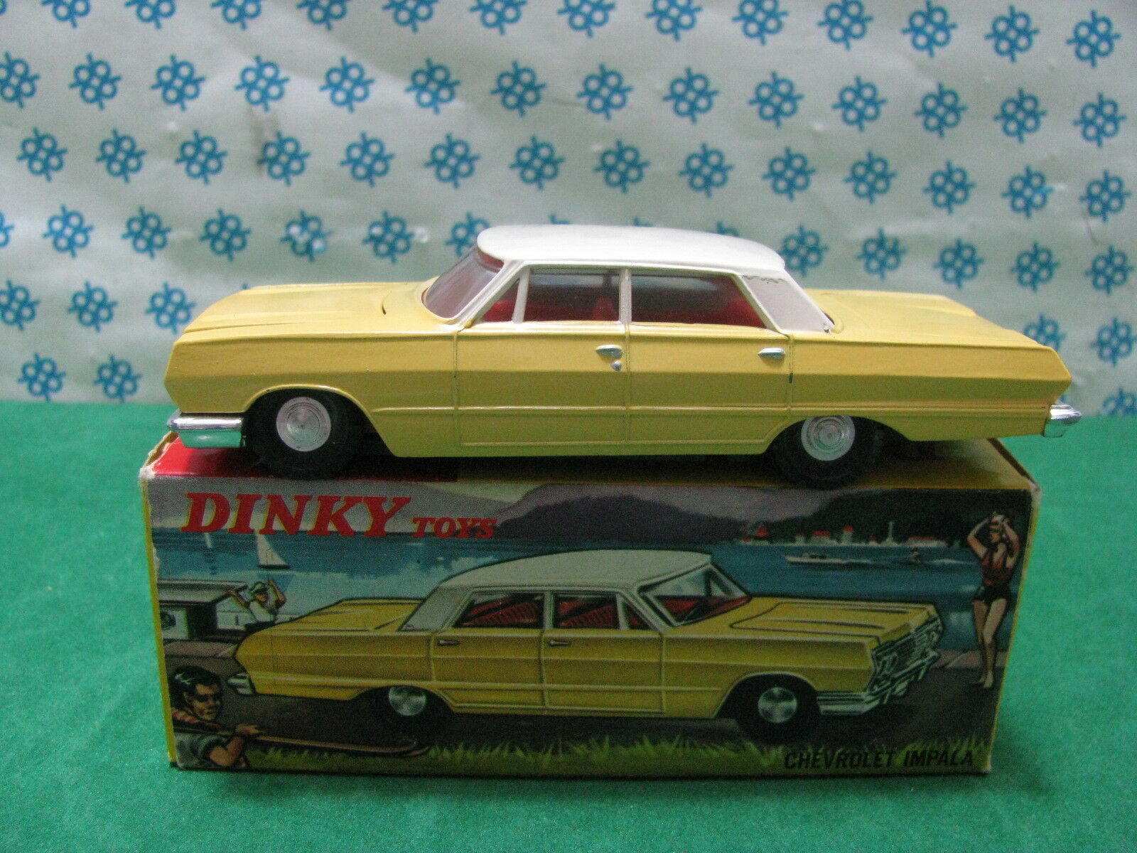 Vintage - Hong Kong Dinky Toys 57 003 - Chevrolet Impala - Mint Superbe