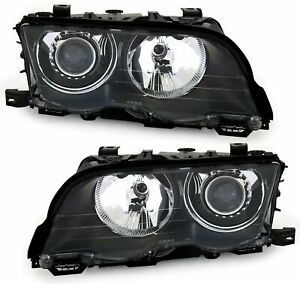 Xenon-Scheinwerfer-Set-fuer-3er-BMW-E46-Limo-Touring-98-D2S-H7-LWR-links-rechts