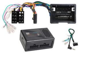 OPEL-Zafira-C-Tourer-Can-Bus-Auto-Radio-Adapter-Lenkrad-Adapter-Kabel-Stecker