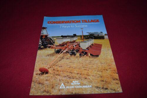 Allis Chalmers Conservation Tillage Dealer/'s Brochure GDSD4