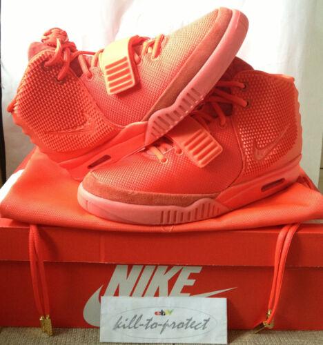West Receipt 2 Air 660 Legit Kanye Uk8 2014 Us9 October Red Yeezy Sz 508214 Nike qzxwSO4EO