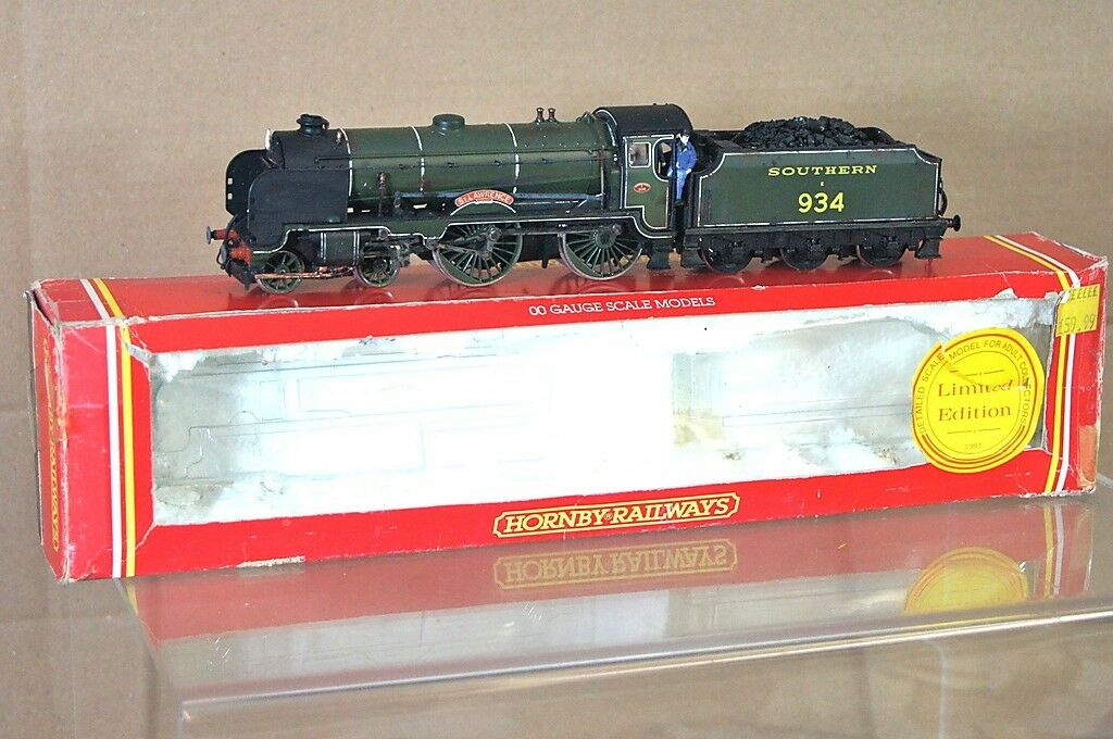 HORNBY R533 KIT BUILT SR SOUTHERN 4-4-0 SCHOOLS LOCO 934 St LAWRENCE WEATHErojo m
