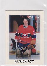 1987 87-88 O-Pee-Chee Minis #36 Patrick Roy