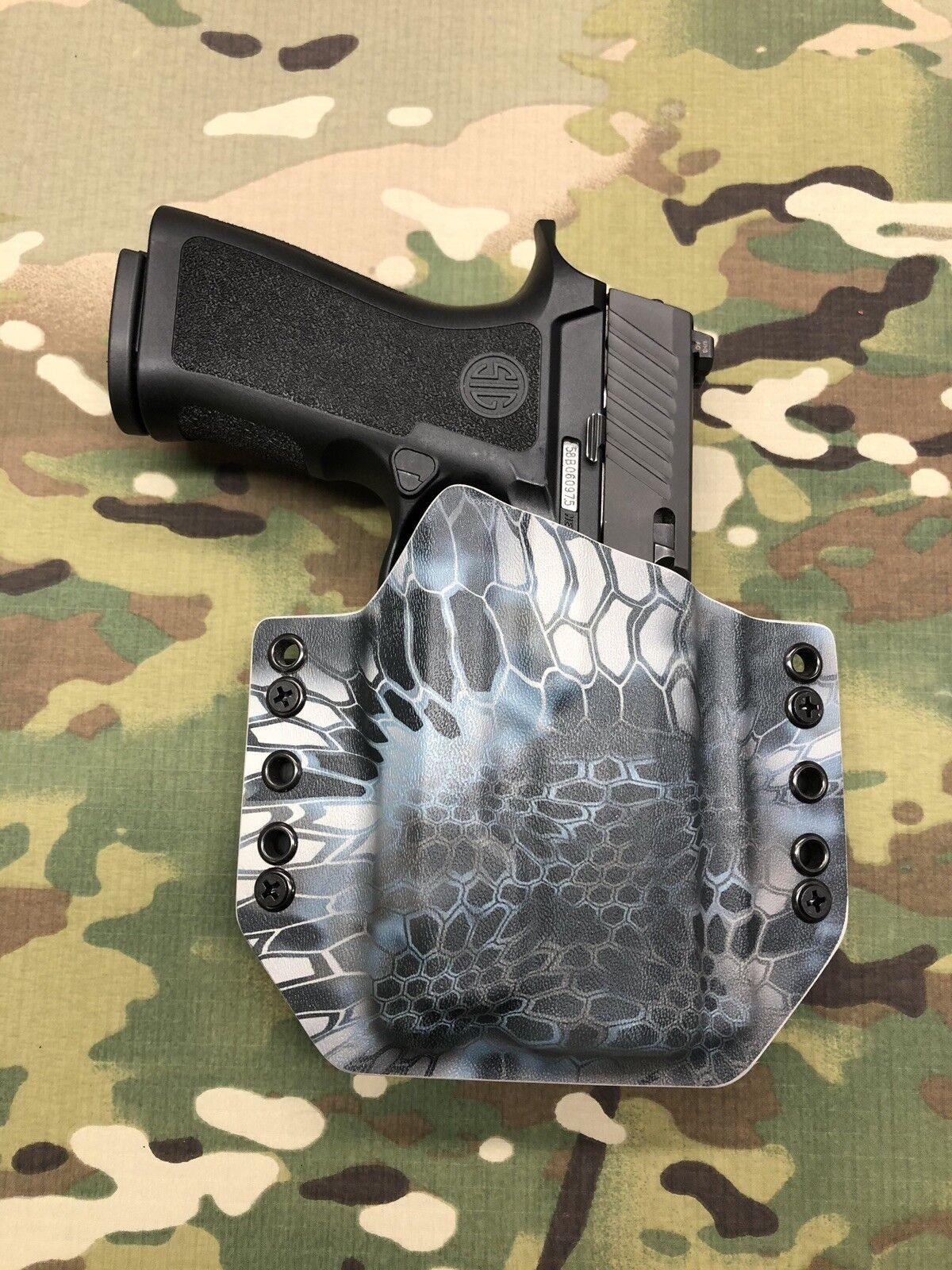 Kryptek Neptune Kydex Holster Sig P320 X-Carry Inforce APLc