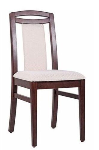 Seniorenstuhl, Sitzhöhe 49 cm, sofort lieferbar, Gestell Buchenholz ex. Qualität