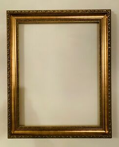 VINTAGE  GOLD GILT ORNATE WOOD AND GESSO FRAME 17.5x21.5 and 18x14 Inches