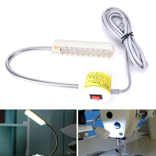 AC 110V-220V 30 LED Light Lamp Sewing Machine Magnetic Base Switch For Sewing UK
