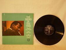 OSCAR PETERSON THE SOUND OF TRIO MONO LP VERVE RECORDS V-8480 1962