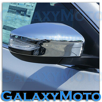 Triple Chrome plated ABS Mirror Cover w//Turn Signal for 13-15 NISSAN ALTIMA 2015