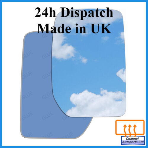 Right hand driver heated convex mirror glass Ford Transit Mk3 2000 - 2013 50RSH