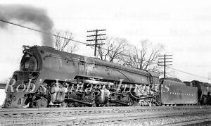 Pennsylvania Railroad Photo 6691 Q Class 4-4-6-4 Steam