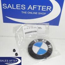 Original BMW Emblem Plakette Motorhaube 5er E39 E60 E61 7er E38 X3 X5 X6 Z3 82mm