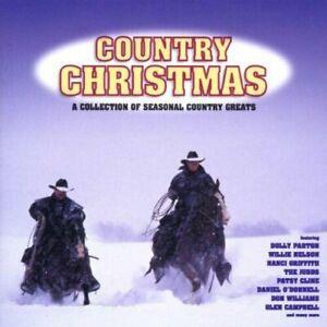 COUNTRY-CHRISTMAS-Various-1996-20-Track-CD-Album