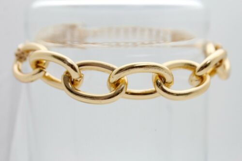 Women Boot Bracelet Gold Metal Thick Chain Chunky Links Shoe Band Charm Strap